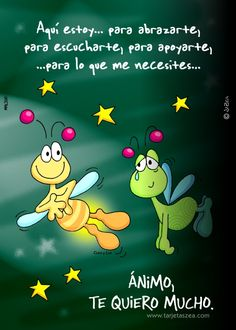 Aquí estoy mi amor te quiero te extrañó Birthday Wishes, Happy Birthday, Jolie Phrase, Quotes En Espanol, Cute Messages, Spanish Quotes, Morning Quotes, Positive Thoughts, Me Quotes