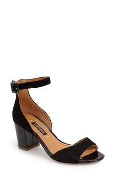 Kay Unger 'Deklyn' Ankle Strap Sandal (Women)