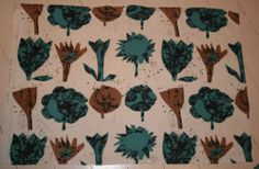 vintage fabric Heals Lucienne Day