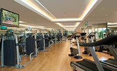 Fitness Centre --- The majority of photographs displayed on this website are the creation of the Melbourne-based award-winning photographer, George Apostolidi Excelsior Hotel, Victoria Harbour, Front Desk, Guest Room, Hong Kong, Centre, Luxury, Bay Area, Wi Fi