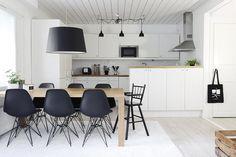Kaunis skandinaavinen keittiö - Etuovi.com Sisustus