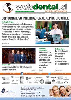 """Revisa """"webdental.cl Boletin Informativo N° 51""""... Todas las Ediciones en: webdental.cl/boletin"""