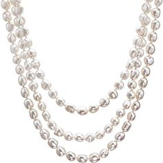 HinsonGayle AAA Handpicked 10-11mm Ultra-Iridescent Baroque Freshwater Cultured Pearl Rope 65″  As a part of HinsonGayle's acclaimed Extreme Baroque Collection, this gorgeous baroque pearl rope necklace is crafted from premium large free-form baroque pearls. The stunning free-form baroque pearls were handpicked for their exceptional body color, high luster, nearly blemish-free surfaces, …  Read More  http://dailydealfeeds.com/shop/hinsongayle-aaa-handpicked-10-11mm-ultra-iridescent..