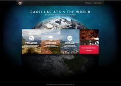 Cadillac  #webdesign #web #design #inspiration #JablonskiMarketing #marketing #branding