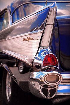 1957 Chevrolet Bel Air Tail Fin