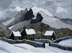 Towards the Pass by British Contemporary Artist David Barnes