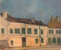 Eustaţiu Gregorian - Craiova Veche - painting in full format at www.iCraiova.com Paintings, Art, Art Background, Paint, Painting Art, Kunst, Performing Arts, Painting, Painted Canvas