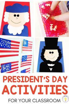 37 best presidents day kindergarten