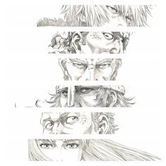 [Spoilerless] Personality Captured Through Their Eyes - VinlandSaga Manga Art, Manga Anime, Vinland Saga Manga, Anime Crossover, Anime Screenshots, Dnd Characters, Character Art, Character Ideas, Drawings