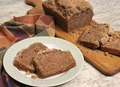 Zucchini Bread with Crumble Topping Recipe - This is undeniably the BEST zucchini bread I have ever made...