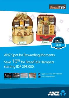 BreadTalk: Save 10% For Hampers Starting IDR 298.000 (ANZ) @breadtalkindo