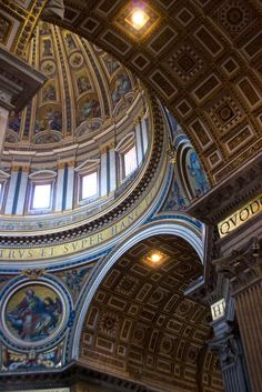 St. Peter's Basilica Rome, Italy #monogramsvacation