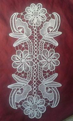 Dantel Anglez Modelleri 11 Crochet Motif Patterns, Crochet Diagram, Macrame Patterns, Lace Patterns, Crochet Stitches, Irish Crochet, Crochet Lace, Romanian Lace, Bobbin Lacemaking