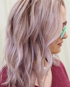 "68 Likes, 3 Comments - Texarkana, TX (@haileymahonehair) on Instagram: ""Subtle lavender using @pulpriothair and @brazilianbondbuilder. #behindthechair…"""