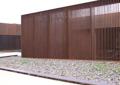 perforated corten texture cor ten steel cladding home pinterest steel cladding cladding. Black Bedroom Furniture Sets. Home Design Ideas