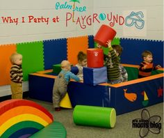 Why I (Birthday) Party at Palm Tree Playground Instead of at Home | New Orleans Moms Blog