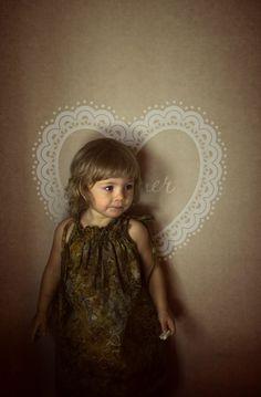 children's clothing , style, fashion , elegant , art  , angel , beauty, dress, baby fashion , green.
