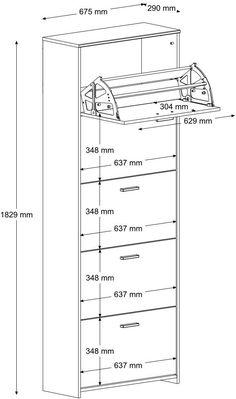 InFINIKIT CLIP Noční stolek se třemi zásuvkami: Amazon.de: Küche & Haushalt