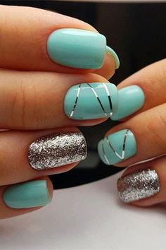 30 hot Summer Nail Color Ideas - Scroll down for the hottest summer nail color and nail art trends. Fancy Nails, Cute Nails, Pretty Nails, Nail Polish Designs, Acrylic Nail Designs, Cute Acrylic Nails, Gel Nails, Manicures, Coffin Nails
