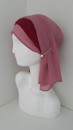 Head Scarf Styles, Turbans, Bad Hair Day, Modest Dresses, Dressing, Hats, How To Wear, Accessories, Fashion