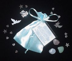 A beautiful Bag of Blessings to celebrate the Birth of a New Baby Boy! Only £4.85