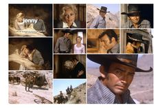 The Virginian bursts into a hotel room to rescue a woman from two attackers and discovers his former girlfriend, Jenny Davis, who claims she doesn't know the men or why they were harassing her. The Virginian offers to accompany her on the rest of her journey, but the stagecoach loses a wheel in the desert, leaving its passengers stranded, with Jenny's stalkers closing in. From Jenny | The Men from Shiloh