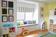 Kid's play room - from A House Full of Sunshine