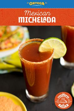 Micheladas are a perfect way to kick off your Cinco de Mayo festivities! Dip the glass rim in Ortega Taco Seasoning to pack a punch of Mexican flavor, and then fill the glass with equal parts beer and bloody mary mix.  Cheers to your new signature Cinco de Mayo cocktail, and remember to drink responsibly!