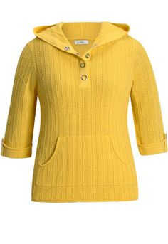 Snap Placket Pullover Sweater $45.50