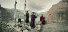 Natives of Mustang, Nepal - photos of 12 tribes before they pass away http://www.businessinsider.com/jimmy-nelsons-tribal-photos-before-they-pass-away-2014-2?IR=T
