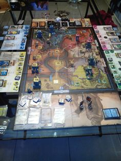 """Recently I bought FIef: France 1429 without really checking what the game was like, something I sometimes do and I've had a few """"misses"""" and a few """"hits"""" this way but Fief is out of category. Fief is a pseude-historic game where you try to gain power in 14-15th century France by gaining most titles. The game is full of intriges, backstabbing, waging wars upon other families and other devious actions. I ADORE this game and I would recommend it to every player who likes this kind of games!"""