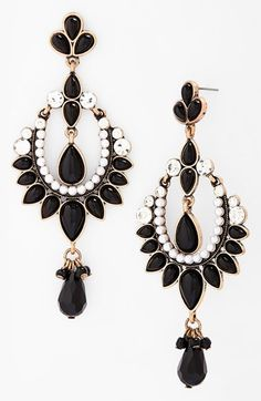 Vintage inspired drop earrings