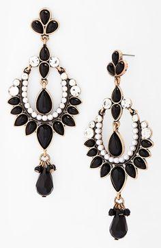Vintage inspired drop earrings