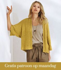 Modèles Tricot Femme – Explications & Patrons Tricot Femme You are in the right place about Knitting projects Here we offer you the most beautiful. Knitting Blogs, Easy Knitting, Knitting Patterns, Knitwear Fashion, Cardigan Pattern, Knit Jacket, Shawls And Wraps, Cardigans For Women, Casual Styles