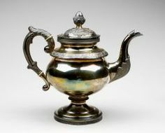 Teapot R. & W. WILSON (AMERICAN, 1825–1846) C. 1825