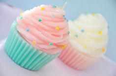 Cupcake Candles! :O So cute! :D