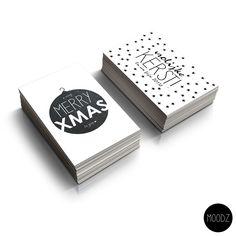 Leuke kerstkaarten. Ontwerp: Milou Soeters, MOODZ design. Bestellen?! design.moodz@gmail.com