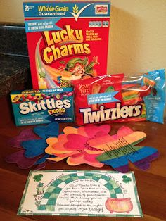 .:Thursday's Kiss:.: Leprechaun Treats & Tricks!
