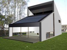 Meubelmaker bouwt eigen nulenergiewoning in Eeklo