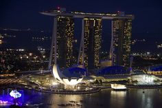 Singapore from the top