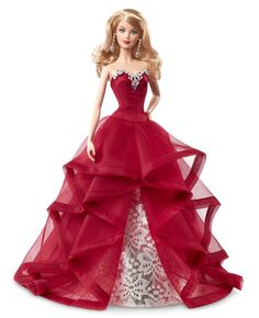 Barbie - Chr76 - Poupée Mannequin - Merveilleux Noel 2015: Amazon.fr: Jeux et Jouets
