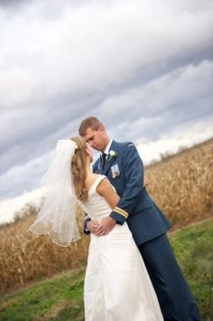 Gorgeous Outdoor Wedding Portrait