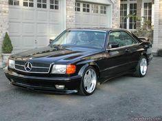 Mercedes 560 SEC AMG