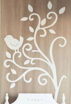 adesivo-passarinho-e-arabescos.jpg (399×580)