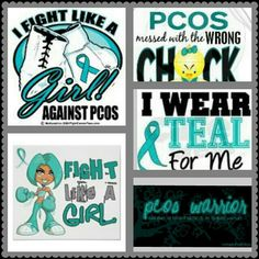 Fight like a girl and help raise #PCOSAwareness through Pinterest. #PCOS #infertility