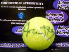Arantxa Sanchez Vicario autographed Tennis Ball « Store Break
