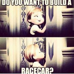 Ha ha! Dirt track racing