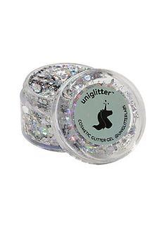 Show 'em you're fabulous // Uniglitter Silver Glitter Pot
