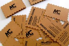 55 Custom Shaped Die Cut Business Cards