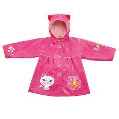 Kidorable Lucky Cat Raincoat, Choose Size